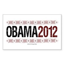 Obama 2012 Decal