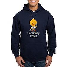 Gardening Chick Hoodie
