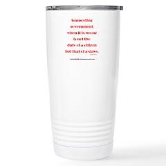 Supporting Government Travel Mug