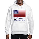 Korea Veteran (Front) Hooded Sweatshirt