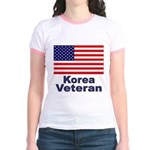 Korea Veteran (Front) Jr. Ringer T-Shirt