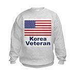 Korea Veteran (Front) Kids Sweatshirt