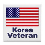 Korea Veteran Tile Coaster