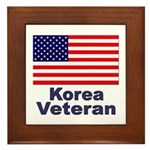 Korea Veteran Framed Tile