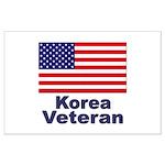 Korea Veteran Large Poster