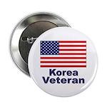 Korea Veteran Button