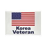 Korea Veteran Rectangle Magnet (10 pack)