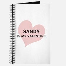 Sandy Is My Valentine Journal