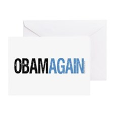 ObamAgain Greeting Card