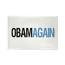 ObamAgain Rectangle Magnet