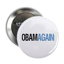 """ObamAgain 2.25"""" Button (10 pack)"""