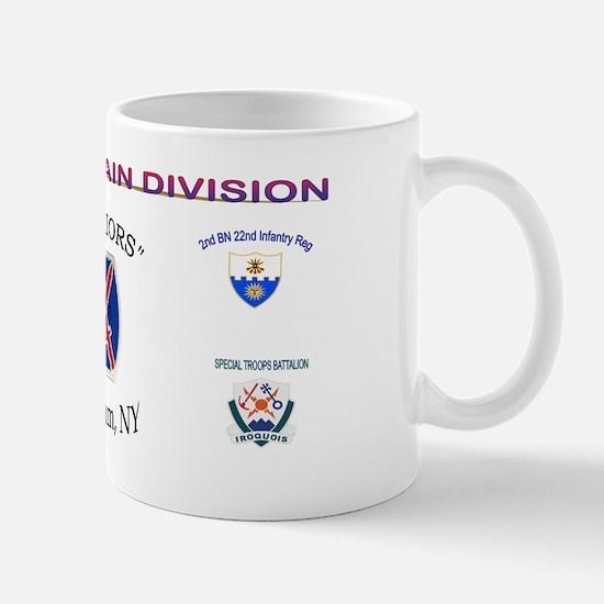 10th Mount Div 1BCT Mug