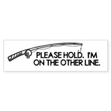 Other Line Fishing Fish Fishe Bumper Sticker