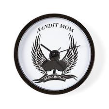 Bandit Mom's Wall Clock