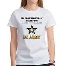 Army - Brother-in-law Serving Tee
