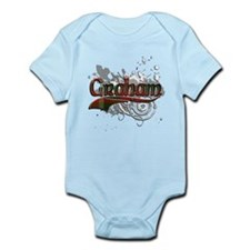 Graham Tartan Grunge Infant Bodysuit