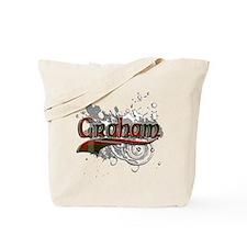 Graham Tartan Grunge Tote Bag