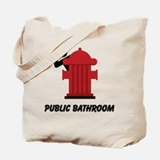 Cute Potty humor Tote Bag