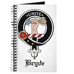 Bryde Clan Crest Badge Journal