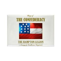 The Hampton Legion Rectangle Magnet