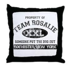 Team Rosalie Throw Pillow