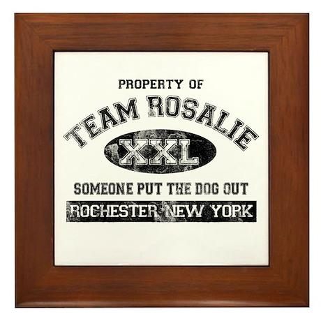 Team Rosalie Framed Tile