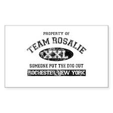 Team Rosalie Decal