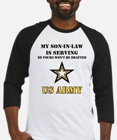 Army - Son-in-law Serving Baseball Jersey