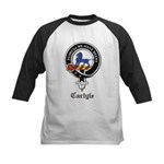 Carlyle Clan Crest Badge Kids Baseball Jersey