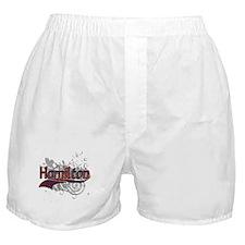 Hamilton Tartan Grunge Boxer Shorts