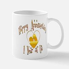 Cute 1st wedding anniversary Mug