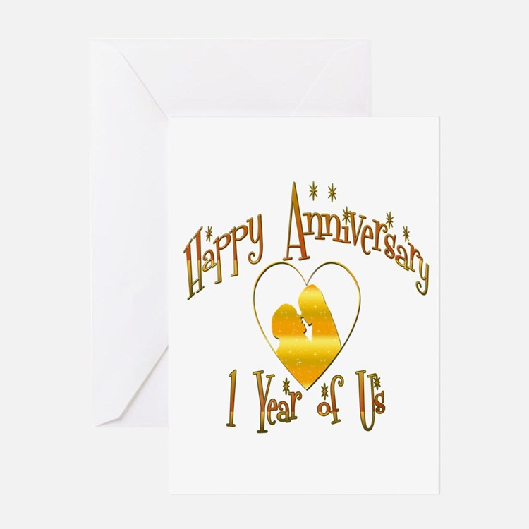 Cute Wedding anniversary party Greeting Card