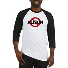Anti-Alison Baseball Jersey