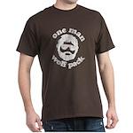 One Man Wolf Pack Dark T-Shirt