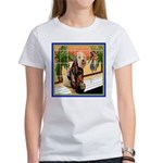 AT THE SPA Women's T-Shirt