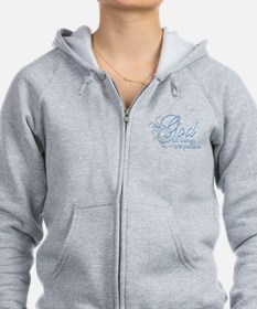With God All Things are Possi Zip Hoodie