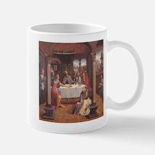 jesus in the house of marta Mug