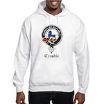 Crosbie Clan Crest Badge Hooded Sweatshirt