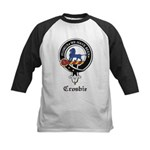 Crosbie Clan Crest Badge Kids Baseball Jersey