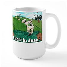 """A Hole in Juan"" Mug"
