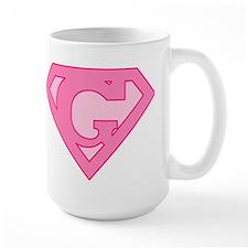 Super Pink G Logo Mug