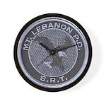 Mount Lebanon Police SRT Wall Clock