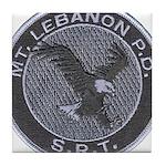 Mount Lebanon Police SRT Tile Coaster
