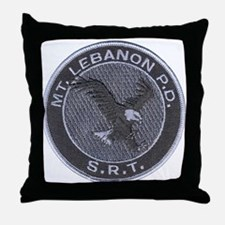 Mount Lebanon Police SRT Throw Pillow