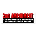 2nd Amendment Sticker (Bumper)