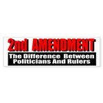 2nd Amendment Sticker (Bumper 50 pk)