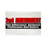 2nd Amendment Rectangle Magnet (100 pack)