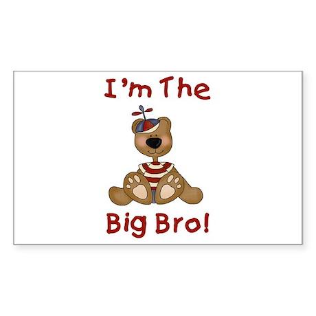 I'm the Big Bro Sticker (Rectangle)