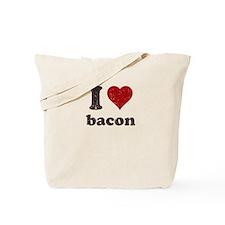 I heart bacon Tote Bag