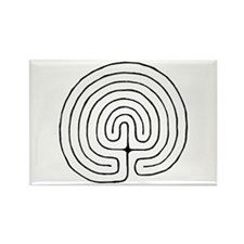 Cool Labyrinth Rectangle Magnet (10 pack)